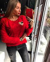 Свитер (42-46) —ворсовый трикотаж  купить оптом и в Розницу в одессе 7км