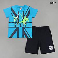 """Летний костюм """"Футболист"""" для мальчика. 3-4 года, фото 1"""