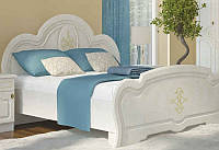 """Двуспальная кровать 200*160 """"Каролина"""" золотое дерево (Сокме)"""
