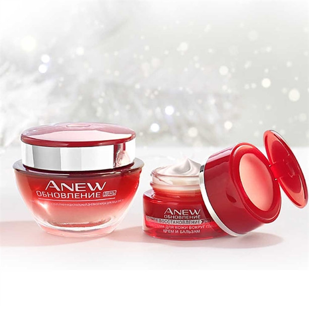 Набор для лица Avon  из серии Anew (Энью) «Обновление» для возраста 35+, Avon, Эйвон, Ейвон,