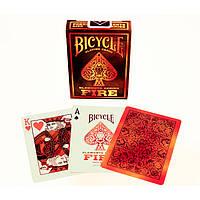 Карты дизайнерские Bicycle Fire (Огонь)