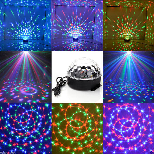 Светодиодный диско шар XXB-01 LED Magic Ball Light