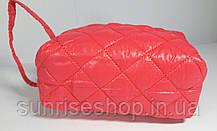 Косметичка стёганная форма бочонка продаётся оптом, фото 2