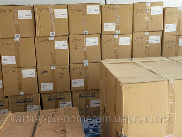 Упаковка и отправка картин