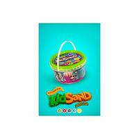 Кинетический песок 0,5кг KidSand Danko toys