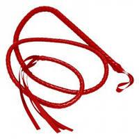 Плетка для утех длинная Красная