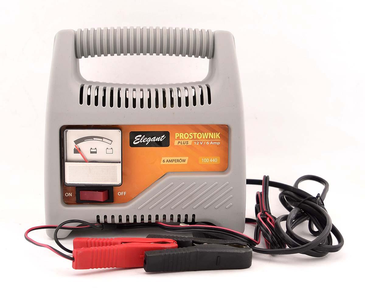 Автомобильное зарядное устройство для аккумулятора 12 V Elegant