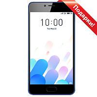 "➤Смартфон 5"" Meizu M5C M710H 2/16GB Blue камера 8 Мп 3000 mAh Android 7.0 гнутое стекло 2.5D"