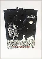 Картонный подарочный пакет для супер модных и творческих людей