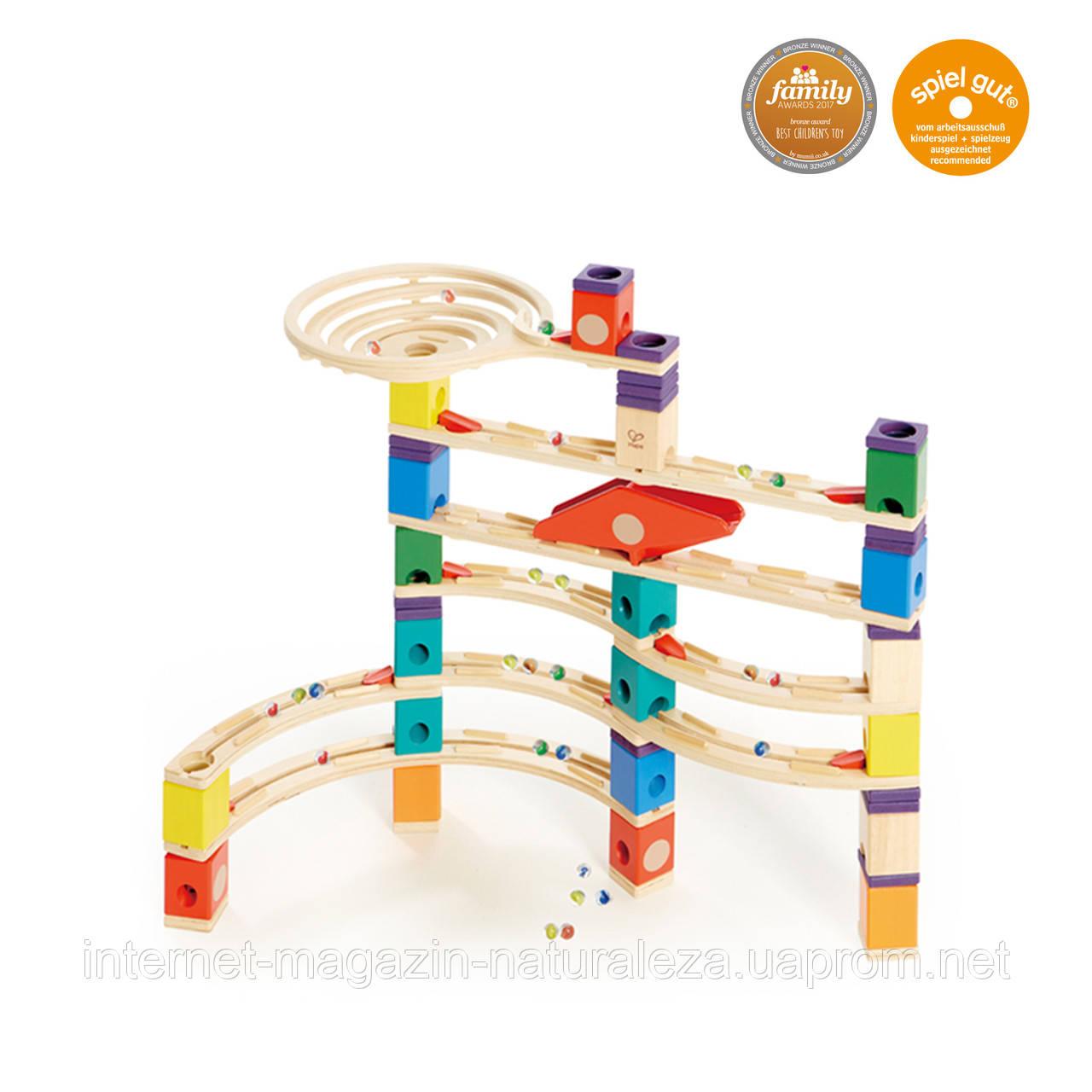 Деревянная головоломка балансир Hape Xcellerator серия Quadrilla