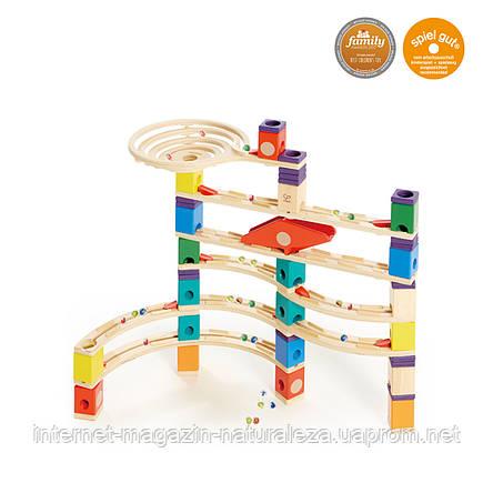 Деревянная головоломка балансир Hape Xcellerator серия Quadrilla, фото 2
