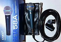 Микрофон динамический проводной - UKC BETA 58A