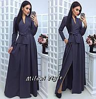 Платье макси с запахом тв-12014-1