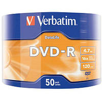 DVD-R Verbatim 4.7Gb 16x Data Life, Wrap (43791)