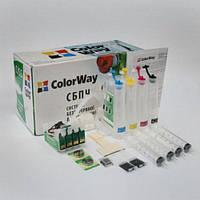 СНПЧ ColorWay Epson S22, SX125/130/230/235/430/435/440/445, 4x100 г   (40680)