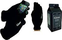 Перчатки для сенсорных экранов iGloves Черные