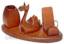 Подарки и сувениры, настольные наборы из натурального дерева, фото 2