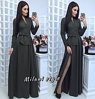 Платье макси с запахом тв-12014-3