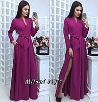 Платье макси с запахом тв-12014-4
