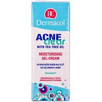 Гель-крем для лица DERMACOL ACNE CLEAR (Дермакол Акне Клеар) увлажняющий для проблемной кожи 50 мл