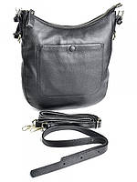 Дамская сумка из натуральной кожи на плечевом ремне