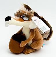 Мягкая игрушка Белка с орехом 20см из Ледниковый период 6076
