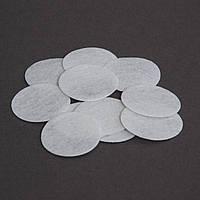 Кружочки фетра (упаковка 100 шт) Белые