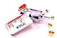"""""""Профессиональный набор кистей для макияжа Kylie 12 шт. """""""