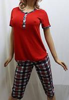 Пижама женская футболка и бриджами, от 44 до 54 р-ра, Харьков