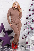 Ангоровый женский костюм в больших размерах 1415387