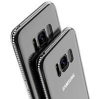 Силиконовый чехол для Samsung Galaxy S8 G950 со стразами, фото 1
