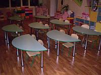 """Стол для детского сада """"Полукруг"""", фото 1"""