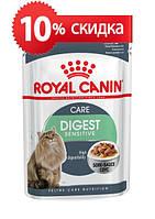 Консервы Royal Canin Digest Sensitive, для кошек с чувствительным пищеварением, 85г