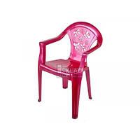 Стульчик детский цветной МП Розовый