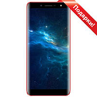 "☛Смартфон 5.5"" Doopro P5 Pro, 2/16 GB Red 4 ядра IPS экран батарея 3500 mAh Android 7.0 + селfи в подарок"