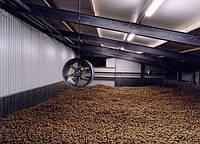 Микроклимат складов хранения картофеля. Киевская область
