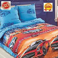 Детское постельное белье в кроватку Фаворит, поплин 100%хлопок