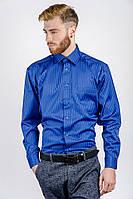 Рубашка мужская синяя AG-0002322 Синий