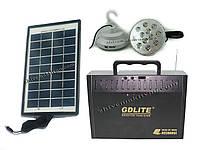 Внешний аккумулятор с солнечной батареей GD-LITE, GD-8012B