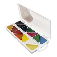 Краски акварельные Мозайка Гамма, 14 цветов