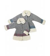 Пальто для девочек+вышивка Артикул 38.0289