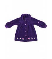 Пальто для девочек+вышивка Артикул 38.0288