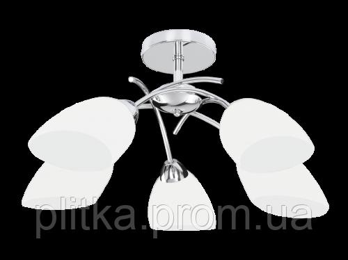 Светильник Viletta zyrandol 5XE27 60W chrom, фото 2