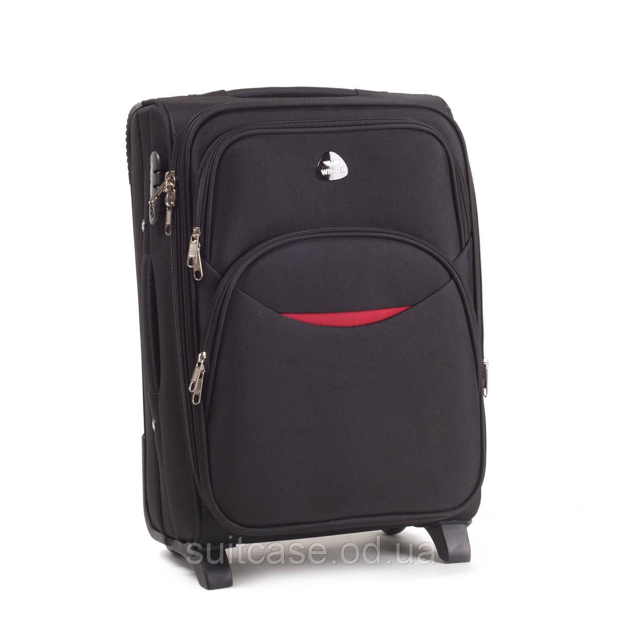 da4ae5cbf9b2 Малый чемодан-ручная кладь на 2-х колесах WINGS 1708 smile новинка -  Интернет