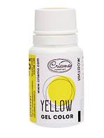 Краситель пищевой гелевый Желтый, Criamo, 10 г