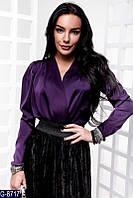 Женская блузка шелковая, фото 1