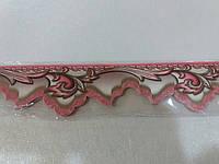 Бордюр обойный 5,5 см (розовые)