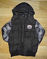 Куртки для мальчика на синтепоне и меховой подкладке Grace, 4-12рр арт. B50786