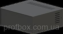 Корпус металевий MB-17 (Ш235 Г217 В92) чорний, RAL9005(Black textured)