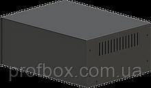 Корпус металевий MB-39 (Ш295 Г217 В120) чорний, RAL9005(Black textured)